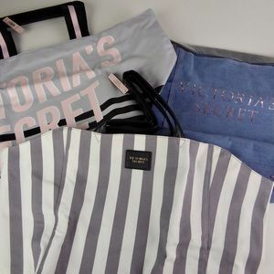 Victoria's Secret Tote Gym Yoga Travel Bag Bundle